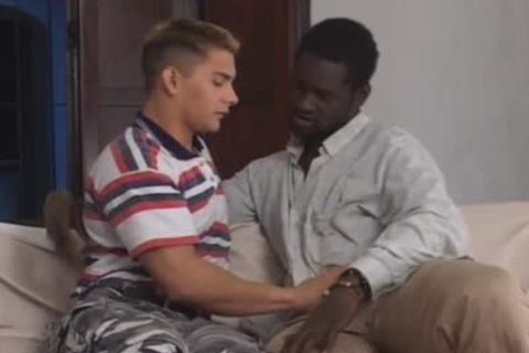 Interracial homosexual dilettantes Canu And Alexander
