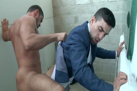man In Trailer Park acquires His cock Milked Hard And Then pound A Tushy deep