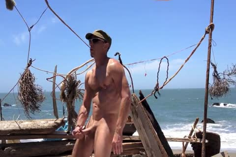 drilling And stroking And Squirting At The naked Beach