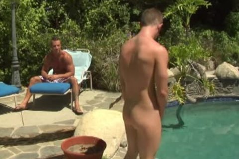 nasty homosexuals fucking In Outdoor Pool