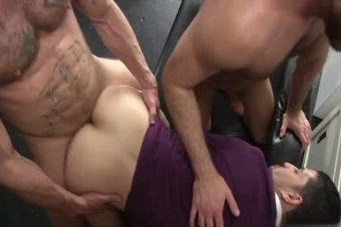 nasty homosexual Flip Flop And Creampie
