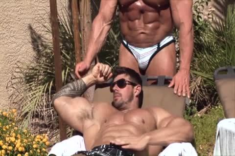 Muscle juicy pounding fellows