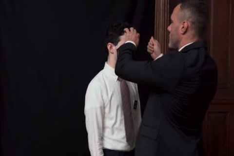 MormonBoyz - Priest Watches A Religious boy Jerks His knob