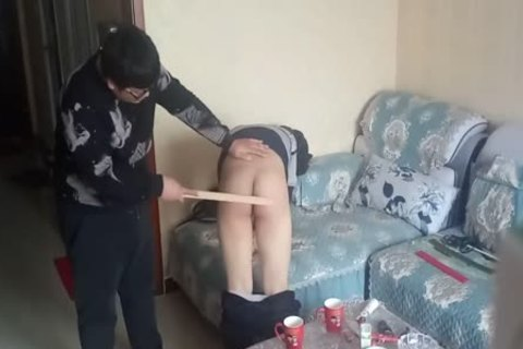 yummy lad Came During His spanking